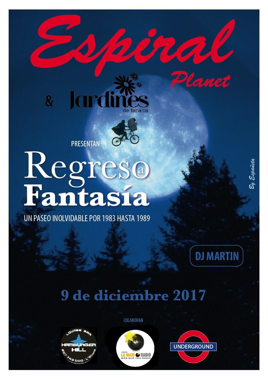 Espiral Planet , Regreso a Fantasia de la mano de Dj Martin en Jardines de Tabarca