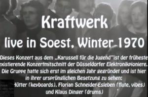 El Primer vídeo de Música Techno del que se tiene constancia – First Techno (Kraftwerk 1970)