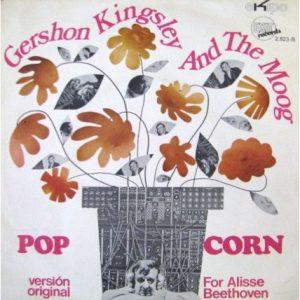 Gershon Kingsley – Pop Corn 1969 considerado el primer tema de música Electrónica de la Historia de la Música.