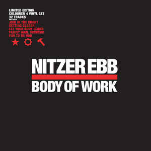 Nitzer Ebb ‎– Body Of Work -limited edition 2019