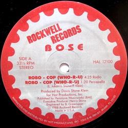 Esenciales: BOSE – Robo Cop (Who-R-U) 1988