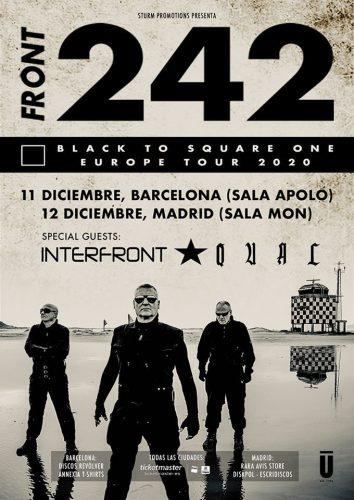 Los Front 242 vuelven a Madrid y Barcelona