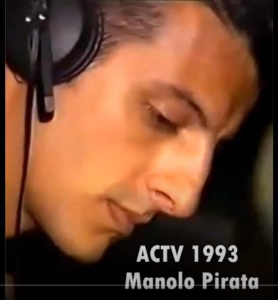 TOP DJS OLD SCHOOL: MANOLO EL PIRATA  DJ DE LA SALA ACTV