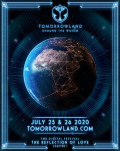 """""""Tomorrowland"""" nos enseña el Futuro de los festivales  el próximo sábado 25 y domingo 26 de julio en esta Nueva Normalidad."""