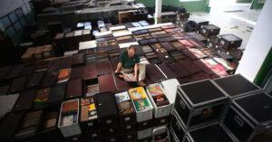 Algunas de los mayores colecciones de Vinilos de España y la mayor Coleccion del Mundo.