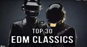 Top 30 canciones clásicas de EDM – Clásicos de la Fiesta 1990-2021